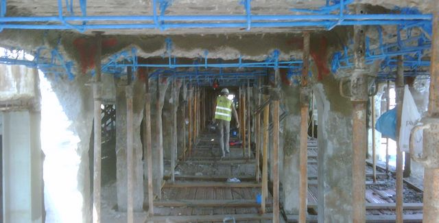 structural repair of the pier of olh�o
